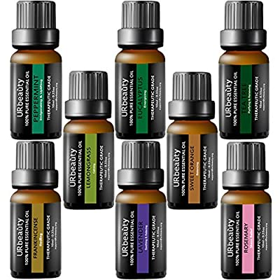 URbeauty Tea Tree Oil, 4 Ouce/ 120ml 100% Pure and Natural Tea Tree Essential Oil, Steam Distilled Essential Oils, Perfect for Massage, Aromatherapy, Diffusion, spa