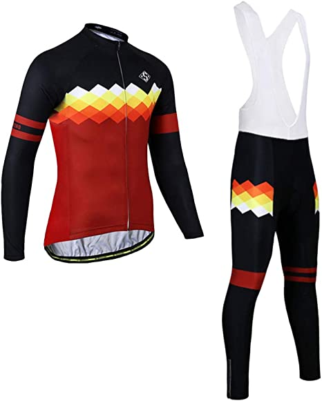 Injoyo Ciclismo Jersey Traje Babero Pantalones Bicicleta Bicicleta ...
