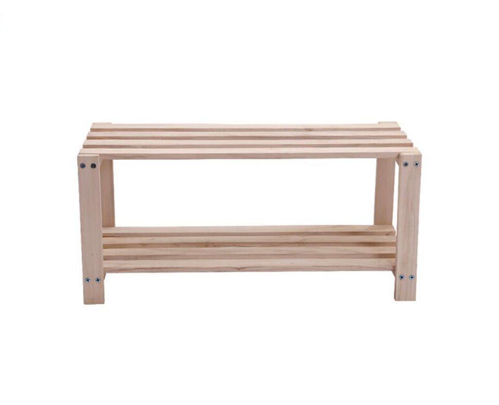 AJZGF Multi-functional solid wood storage racks, oven shelves, living room shoe racks, children's bookshelf shelf. Shelf