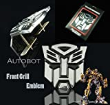 Transformers Autobot Front Mesh Grille Metal Emblem