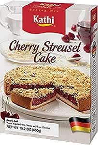 Kathi Cherry Streusel Cake Mix, 15.2 Ounce