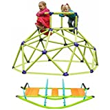 Kids Rocker Seesaw Teeter Totter Pure Fun & Eezy Peezy Portable Monkey Bars Playset, Kids Climbers, Outdoor Sports & Games, Safe Play, Promotes Physical Development, Motor, Flexibility, Coordination
