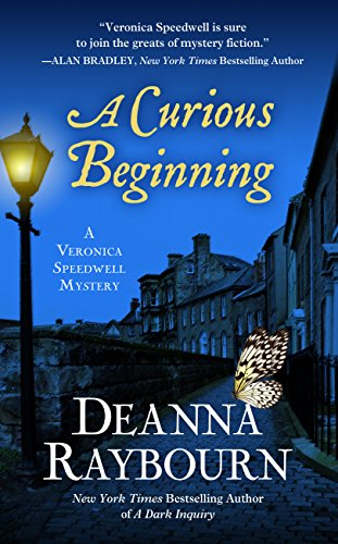 A Curious Beginning (A Veronica Speedwell Mystery) by Thorndike Press Large Print