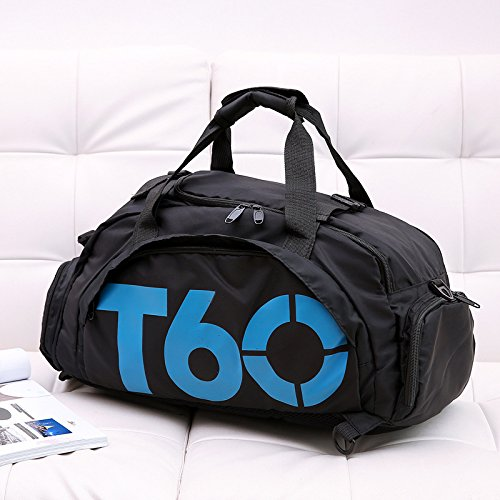 681717f9d3 LanDream Gym Bag Large Capacity Sports Training Holdall Travel Weekender  Duffel Bag