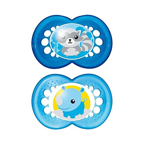 MAM Original 12+ Months Soother, Blue 2 per pack - Pack of 6