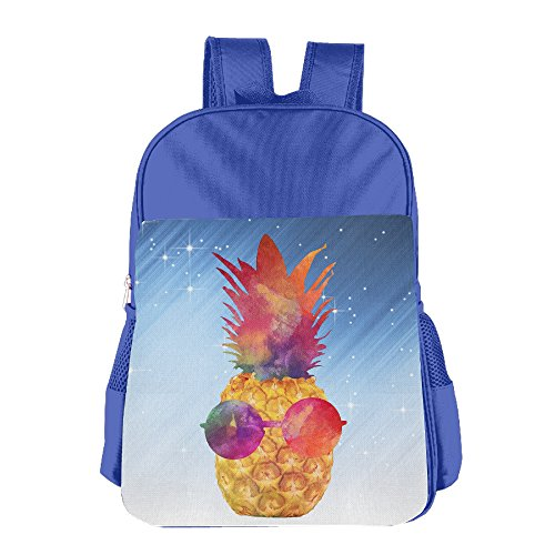 Glasses Pineapple Kids School Bags - Pattinson Robert Glasses
