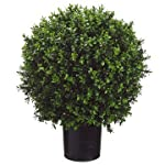 26-Inch-Tall-Boxwood-Ball-Shaped-Artificial-Topiary-wPot-IndoorOutdoor