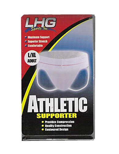 LHG SPORTS ATHLETIC SUPPORTER (L/XL ADULT) by LHG SPORTS