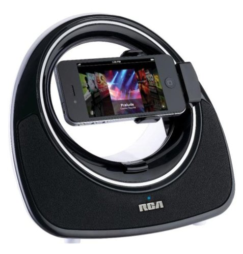 RCA Ri383 Gyro Speaker Dock for iPhone and iPod