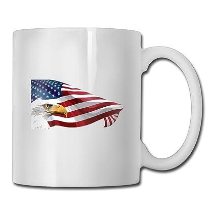 Amazon Com Best Gift Coffee Mug American Flag Eagle Clipart