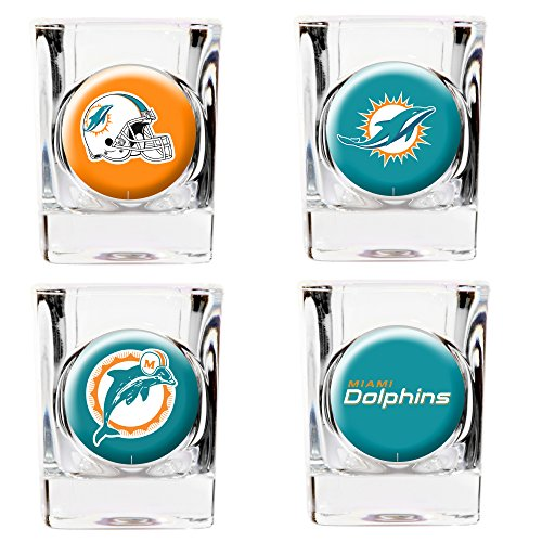 Miami Dolphins Shot Glass - 2