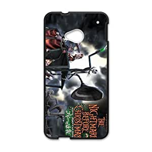 Happy The nightmare berore christmas Case Cover For HTC M7