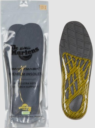 Dr. Martens Premium Insole, Black, 8 M UK (Mens 9, Womens 10 US)