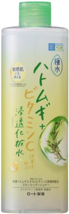 肌ラボ 極水 極水ハトムギエキス×ナノ化ミネラルヒアルロン酸×ビタミンC酸浸透化粧水