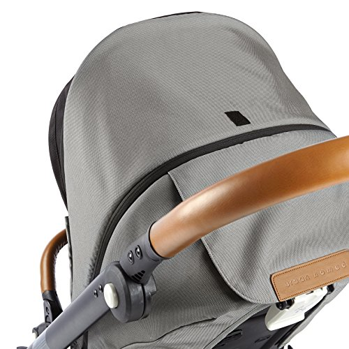 Mutsy Evo Urban Nomad Stroller, Silver Chassis, Light Grey by Mutsy (Image #5)