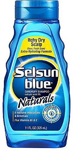Selsun Blue Nat Dry Sclp Size 11z Selsun Naturals Dandruf...
