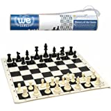 Roll-up Travel Chess Set in Carry Tube with Shoulder Strap - A Great Beginner Chess Set
