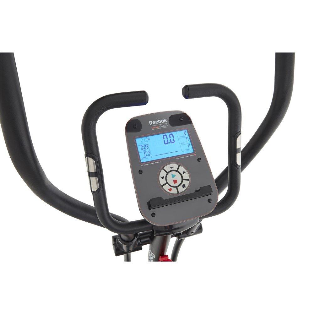 Reebok Gx50 Cross Trainer - Bicicleta elíptica con programas, color negro: Amazon.es: Deportes y aire libre