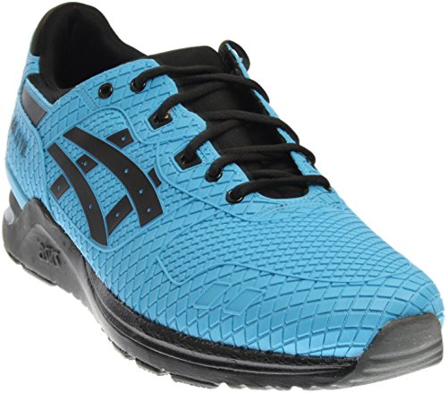 ASICS Men's Gel-Lyte Evo Fashion Sneaker, Light Blue/Black, 10 M US