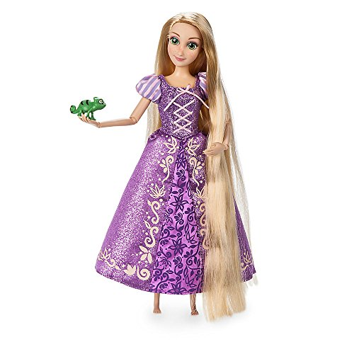 Disney Rapunzel Classic Doll with Pascal Figure - 11 1/2 Inch 460013897811