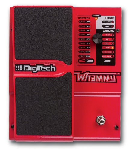 - DigiTech Whammy Pedal Re-issue with MIDI Control