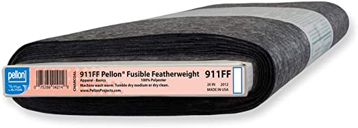 Pellon SF101 Shape-Flex Cotton Woven Fusible Interfacing 20in x 10 Yard Bolt Color White.