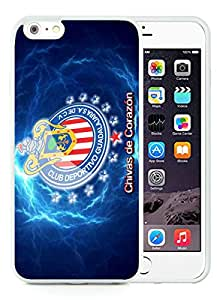 Chivas 6 White iPhone 6 Plus 5.5 inch Screen TPU Phone Case Handmade and Newest Design