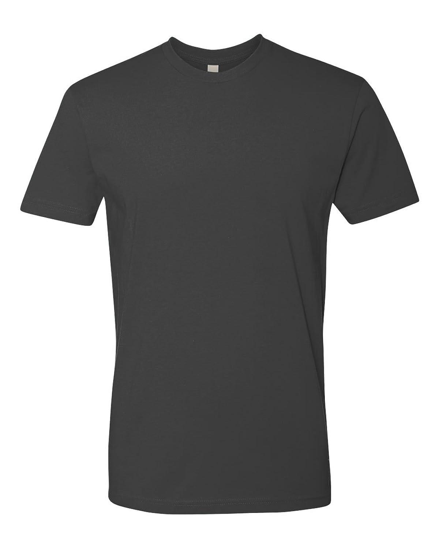 Next Level Apparel Men's Premium Short Sleeved Crew Neck Basic Tee