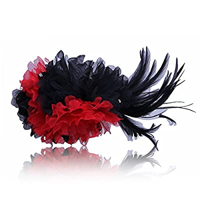 KPHY-Lace Fleurs Ornements Banquet La Mariée Les Pinces À Cheveux Des Ornements Pour Cheveux