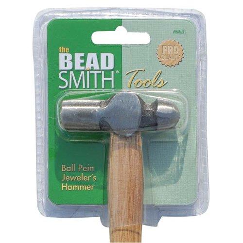 Marteau de bijoutier à bout rond – tête de 2, 5 pouces – pour le travail du métal 5 pouces - pour le travail du métal Beadaholique