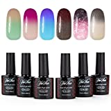 Best Colors With Mixed - Yaoshun Soak Off Gel Nail Polish Temperature Color Review