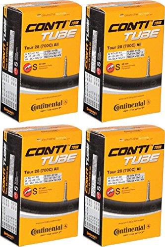Continental Tour 28 700x32-47 42mm Presta Inner Tube Bundle - 4 PACK
