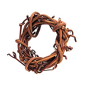 Darice Mini Grapevine Wreath - Natural - 2 inches - Pack of 4 Wreaths 51