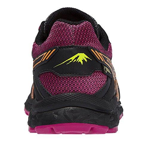 TEX Gore Shoes Running Asics FujiFreeze Black Gel Trail 2 Women's UWUOIS86