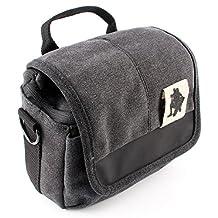 zdMoon Camera bag case for Finepix Fuji Fujifilm X-A2 X-M1 XM1 XT1 X-T1 X-T2 X-E1 XE1 XE2 X-A1 X-T10 X30 X20 X100 (Black)