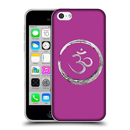 GoGoMobile Coque de Protection TPU Silicone Case pour // Q09170621 Bouddha 35 byzantin // Apple iPhone 5C