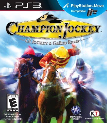 Champion Jockey: G1 Jockey and Gallop Racer - Playstation (Gallop Racer)