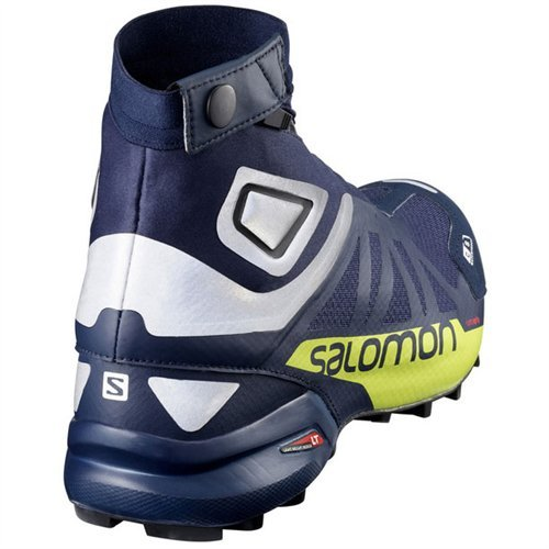 Salomon Snowcross 2 CS Waterproof Trail Running Shoe - Men's-Navy Blazer/Reflective L39451200-10.5
