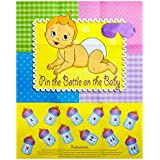 Adorox Baby Shower Party Game (Pin the Bottle or Pacifier...