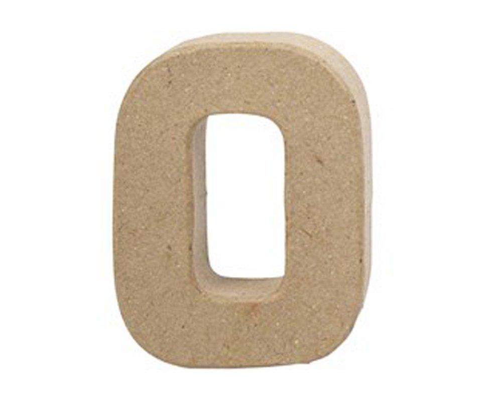 Small 100mm Paper Mache Letter O Papier Mache Shapes