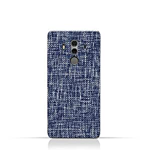 AMC Design Huawei Mate 10 Pro TPU Silicone Case with Brushed Chambray Pattern