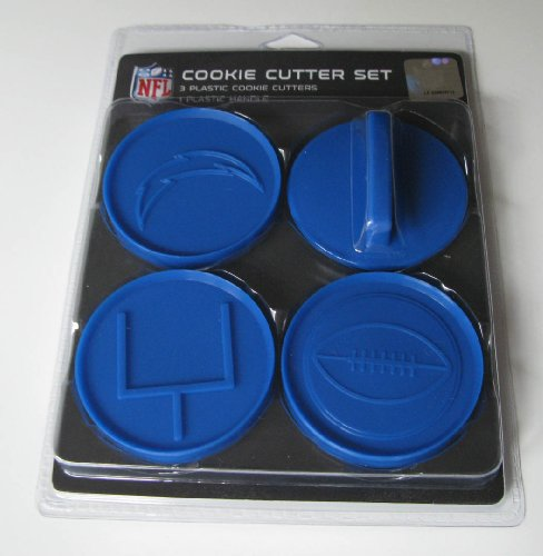 NFL San Diego Chargers Officially Licensed Set of Cookie Cutters