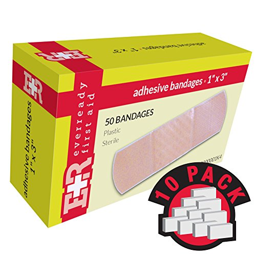 (Ever Ready First Aid Adhesive Bandages, Sheer Plastic, 1