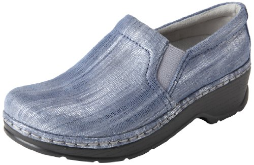 Klogs USA Women's Naples Clog,Denim Shimmer,10 M US