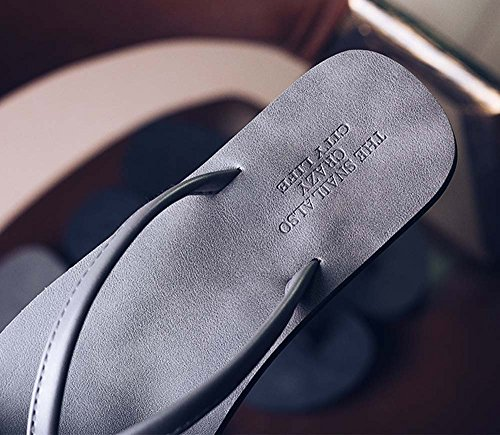 Naladoo Couple Women Men Flip-Flop Slippers Summer Non-Slip Sandals Beach Shoes by Naladoo Men's Shoes (Image #4)