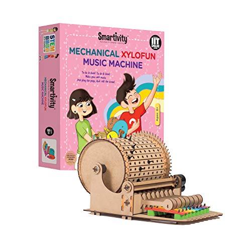 Smartivity Mechanical Xylofun Music Fun S.T.E.M. Educational D.I.Y. Toy Multi Colour
