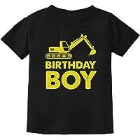 Tstars - Birthday Boy Gift Idea - Yellow Tractor Bulldozer Youth Kids T-Shirt