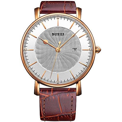 White Gold Unisex Watch - 1