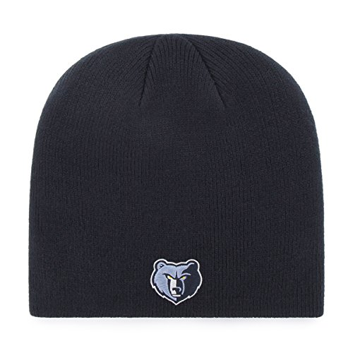 fan products of NBA Memphis Grizzlies OTS Beanie Knit Cap, Navy, One Size