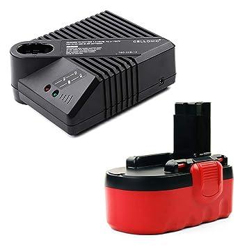 CELLONIC® Batería Premium 18V, 3Ah, NiMH + Cargador ...